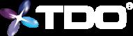 TDO_logo_3D_w_R_no_tag REVERSE
